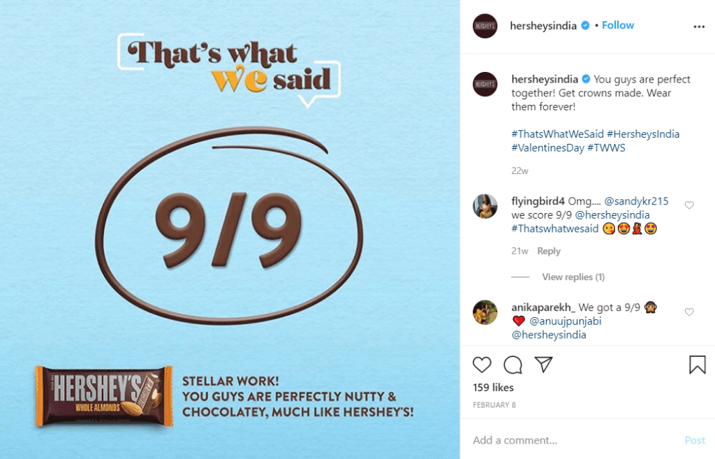 ThatsWhatWeSaid by India's Hershey